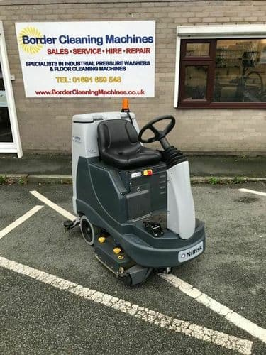 Nilfisk BR755 Battery Scrubber Drier / Dryer .. NOT - KARCHER HAKO TENNANT
